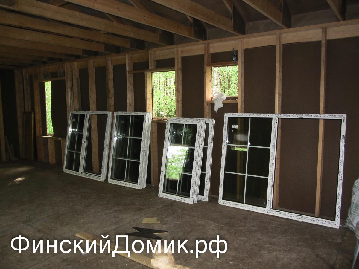 Окна каркасного дома своими руками 70