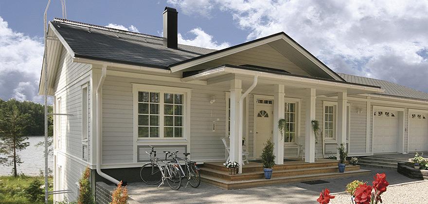 Каркасный дом по финской технологии. В чем отличие скандинавских каркасников