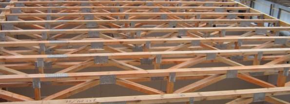 Реализация межэтажного перекрытия на больших пролетах может потребовать не тривиальных и дорогостоящих решений.