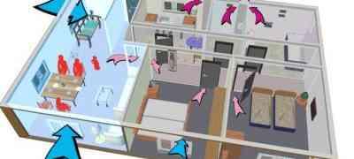 Как сделать вентиляцию в каркасном доме?