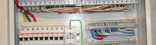 Скрытая электропроводка в каркасном доме