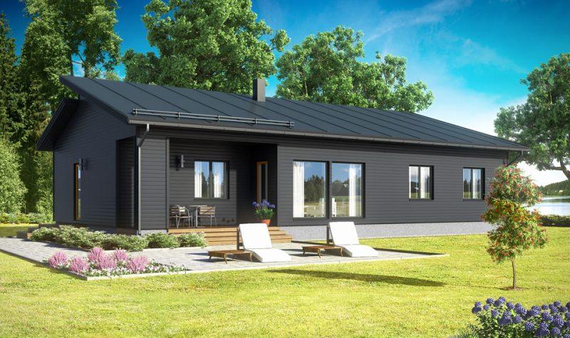 Финский дом в современном стиле