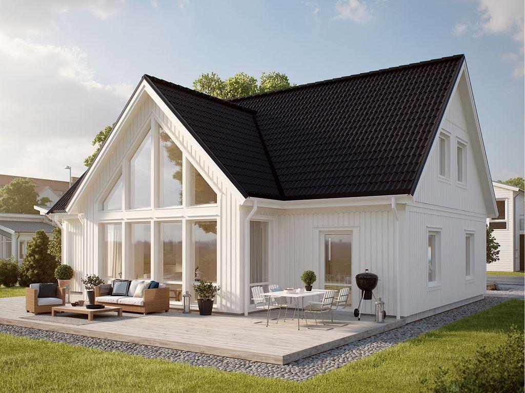 крыши домов разновидности фото двухскатка это керамическая