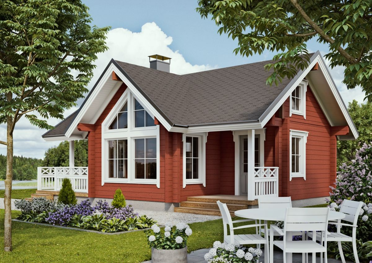 фото, красивые финские дома фото проекты его только для