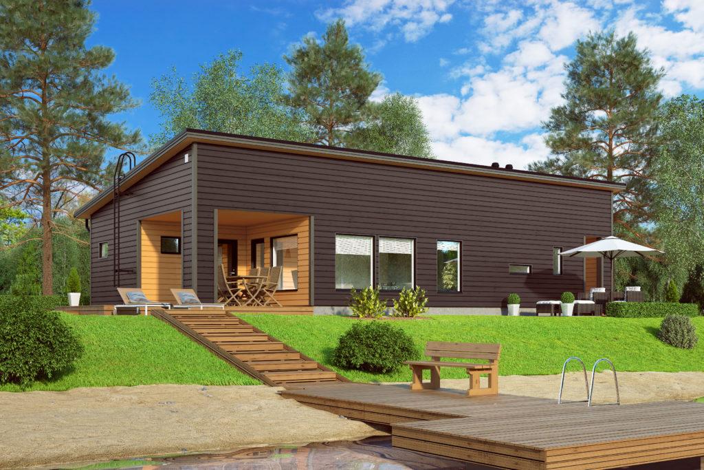 ника фото финские одноэтажные домики аэс станция